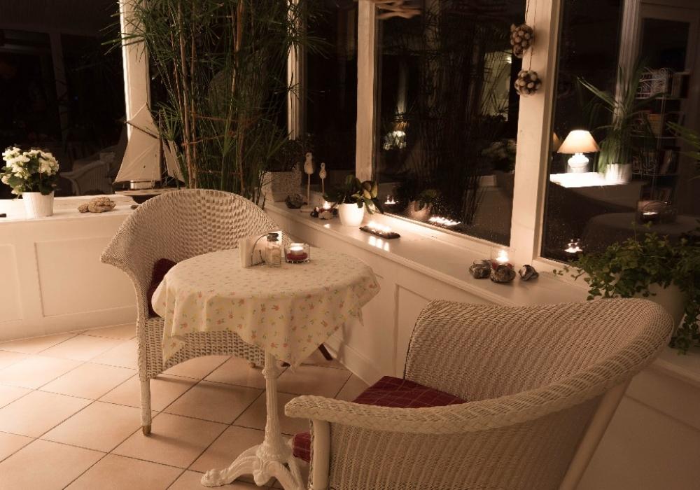 Wintergarten bei Nacht. Bild 6